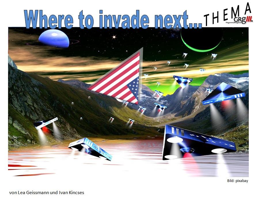 Amerikanischer Blick auf Europa