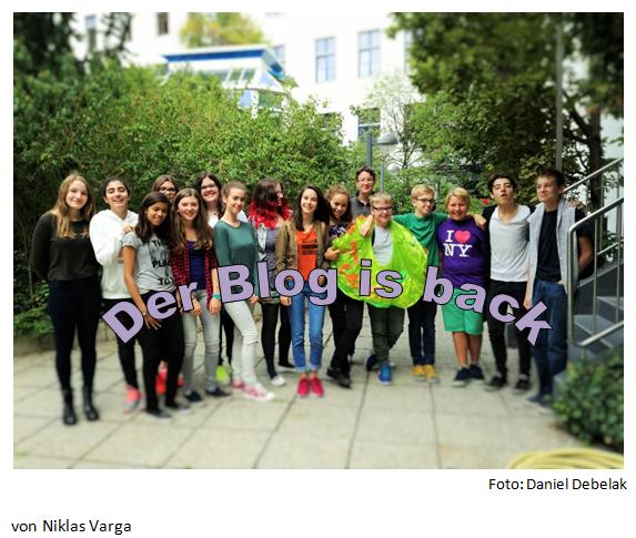 Schulblog – Zurück aus den Ferien