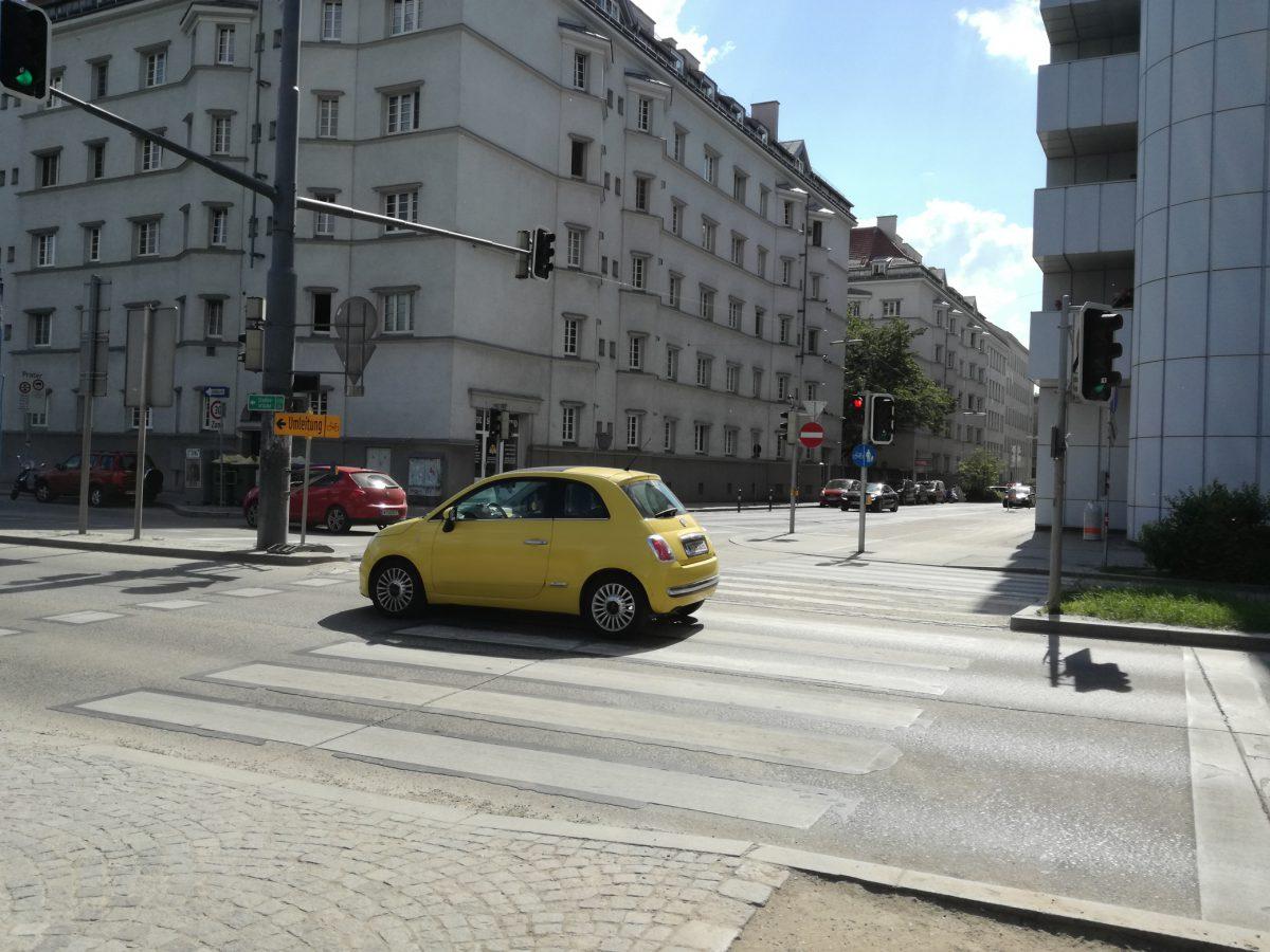 Mit dem Rad zur Tat – Kreuzung 1030, Erdbergerlände/Lechnerstraße